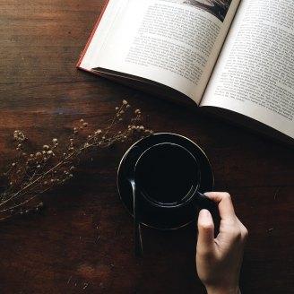 lecture et café
