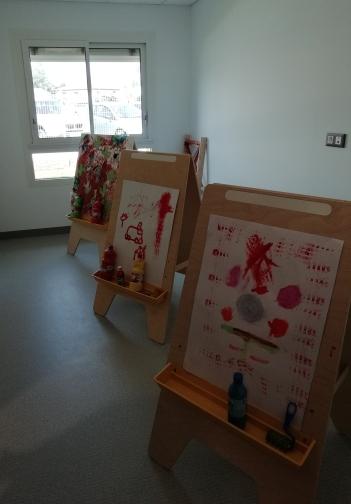 salle de peinture