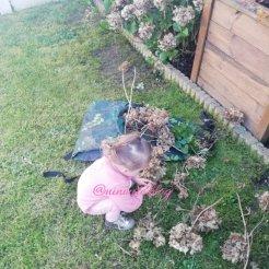 Ninoute au jardin